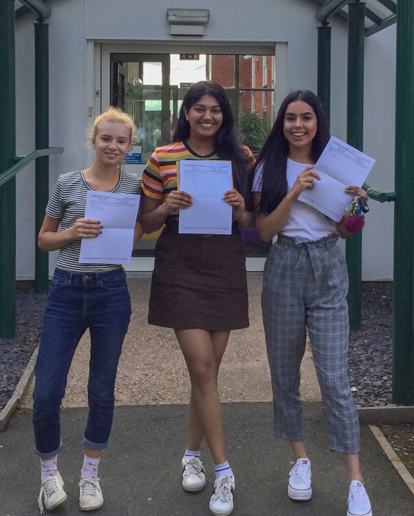 Tudor Grange Redditch celebrates its best A level results to date again!